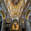 Nave Vault and Apse, Basilica di Saint Agostino. 1479-1483.