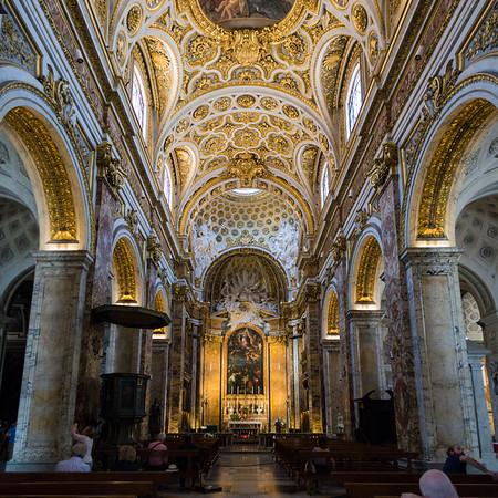 Nave Vault and Apse, Basilica di Saint Agostino