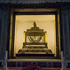 Reliquary for the Chains of St. Peter atop the confessio containing relics of the seven Jewish Maccabei brothers