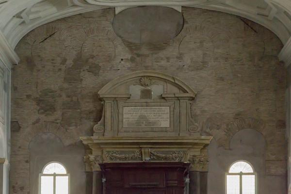 Entrance to Basilica of San Pietro in Vincoli