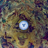 Dome fresco by Giovan Battista Gaulli, known as Baciccio or Baciccia