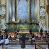 Saint Ignatius Chapel (designed by Andrea Pozzo), contains the saint's tomb, urn, and macchina barocca (Baroque Machine).