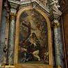 Embrace of Saint Bernard by the Crucified Jesus by Giovanni Odazzi