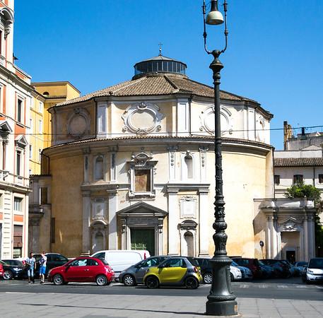 Exterior Chiesa di san bernardo alle terme