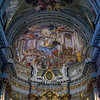 Apse calotte -St Ignatius Helping the Sick and Poor  by Andrea Pozzo