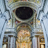 Nave, Simulated cupola, Apse and Crossing -pano