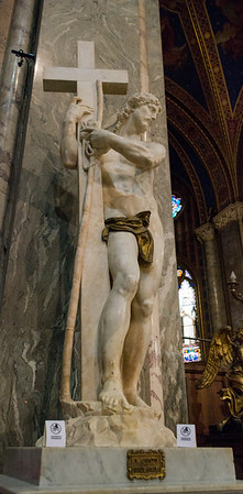 Statue of Christ the Redeemer by Michelangelo