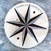 Familia Crispolti Marble Emblem, floor Santa Maria del Popolo