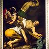 Crucifixion of Saint Peter (Oil on canvas), Cerasi Chapel, Church of Santa Maria del Popolo by Michelangelo Merisi da Caravaggio, 1601.