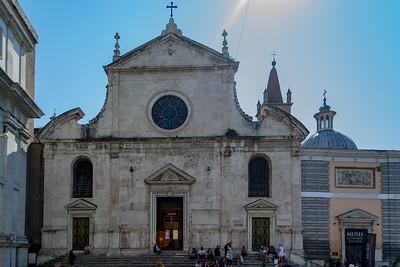 Santa Maria del Popolo, Rome Italy