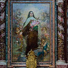 Altarpiece - St Teresa of Lisieux, Carmelite nun who is a Doctor of the Church - by Giorgio Szoldaticz; Chapel of St Teresa of Lisieux (dedicated to St Teresa of Lisieux)