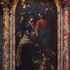 Altarpiece - Christ appearing to the saints by Nicolas de Bar, AKA Nicolò Lorense; Chapel of St John of the Cross