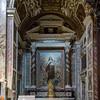 Altarpiece - St Teresa of Lisieux, Carmelite nun who is a Doctor of the Church - by Giorgio Szoldaticz; Chapel of St Teresa of Lisieux (dedicated to St Teresa of Lisieux)