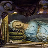 Reliquary urn of Saint Victoria (wax effigy); Chapel of St Joseph