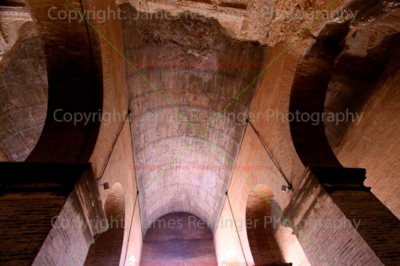 Inside of the Colosseum