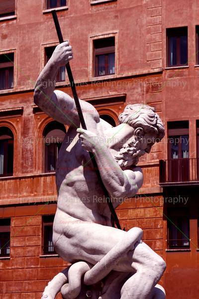 The Fontana del Nettuno (Fountain of Neptune)