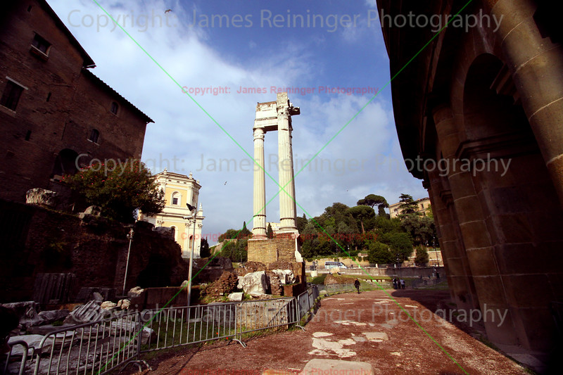 Temple of Apollo and the Foro Piscario