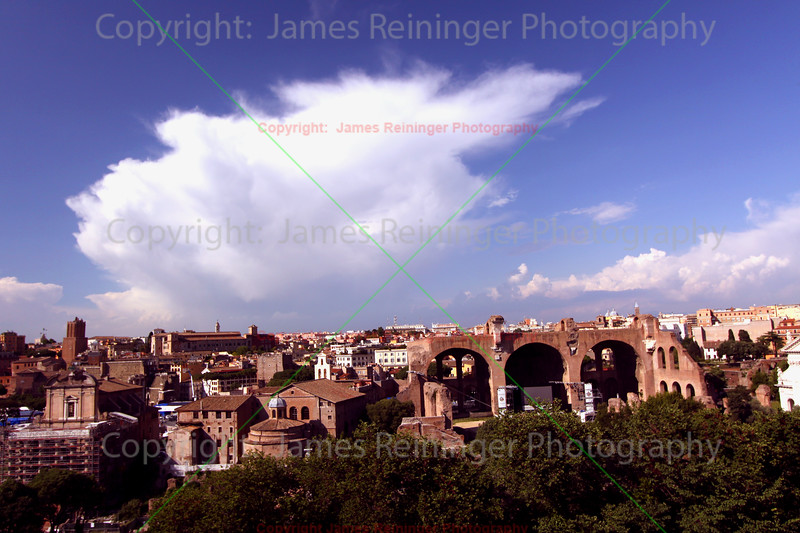 Ruins of the Basilica of Maxentius and Constantine