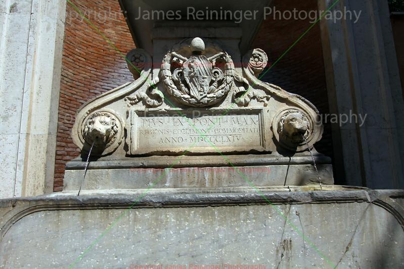 Small fountain in via Annia
