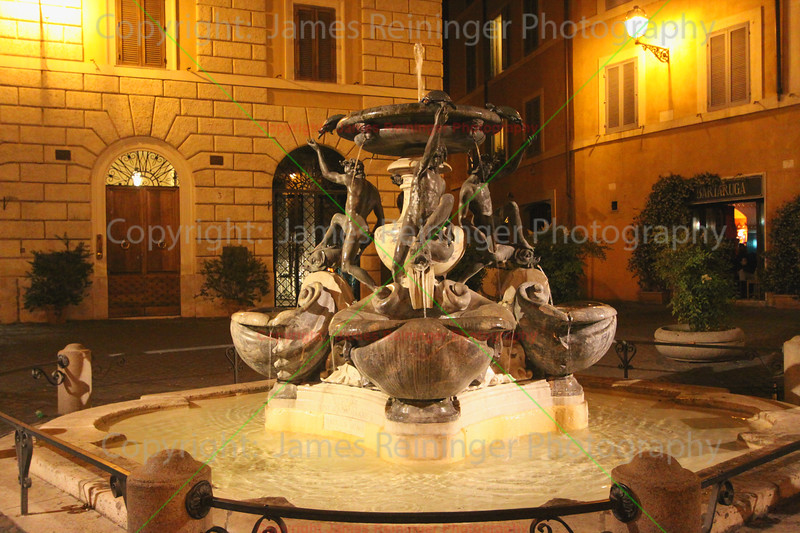 Fontane delle Tartarughe (The Turtle Fountain)