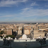 Rome from the terrace of the Quadrigas.