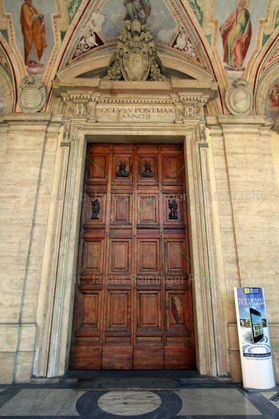 North Entrance, Arcibasilica Papale di San Giovanni in Laterano