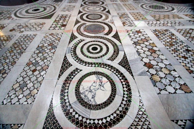 Tile Floor of Arcibasilica Papale di San Giovanni in Laterano
