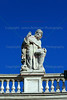Statue<br /> Saint Peter's Square<br /> Vatican City <br /> Rome, Italy