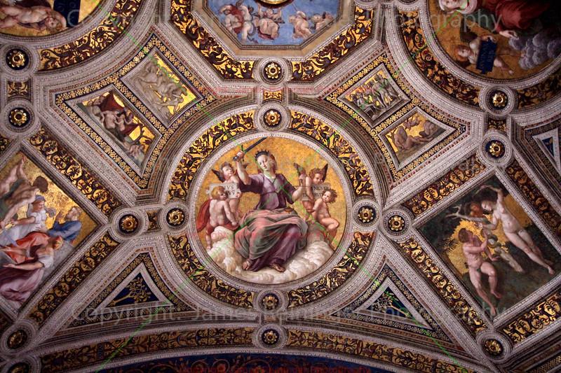 Ceiling (Room of the Segnatura)
