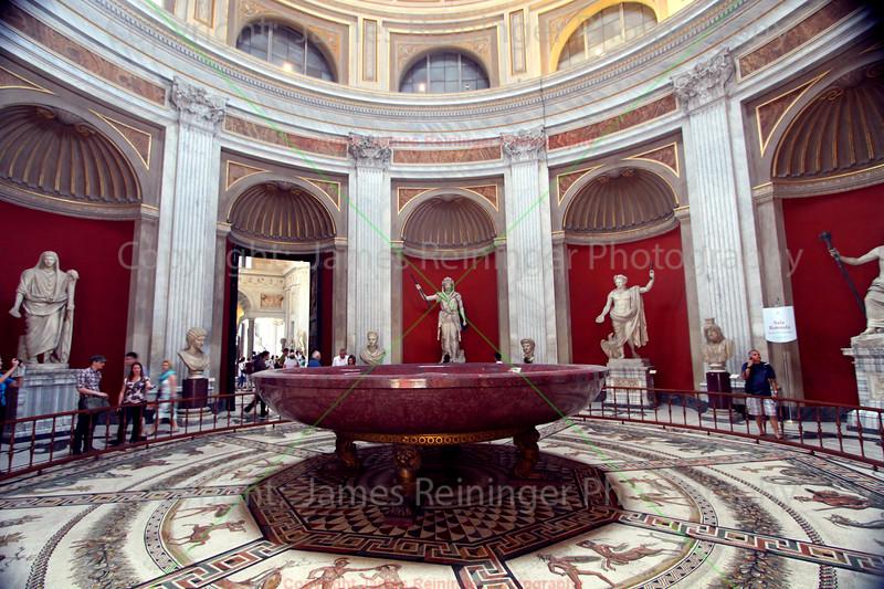 Emperor Nero's porphyry tub