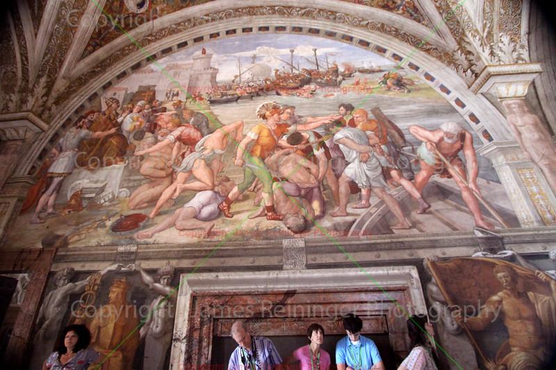 Battle of Ostia by Raphael