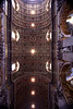 Basilica of Saint Peter Ceiling<br /> Vatican City <br /> Rome, Italy
