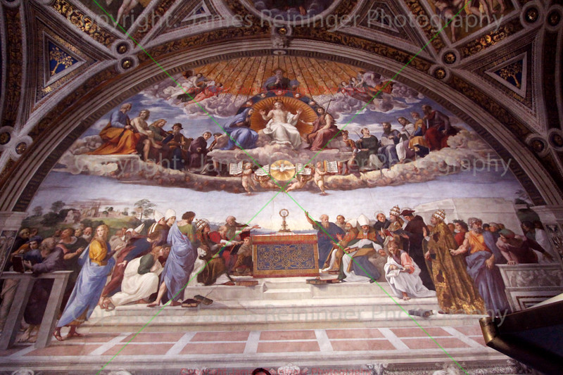 Disputation over the Most Holy Sacrament by Raphael