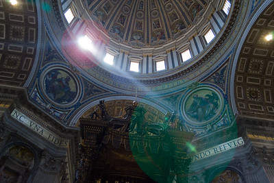 St. Peter's Basilica & Square, Vatican City, Italy
