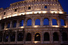 Colosseum Rome at night