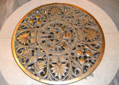 Floor tiles in St. Peter's