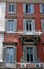 Building facade on the Via del Corso Rome