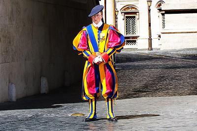 Swiss Guard -  Uniform designed by Michelangelo