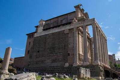 San Lorenzo in Miranda in the Roman Forum