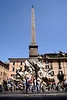 Fountain of the four Rivers and obelisk at the Piazza Navona Rome 2006