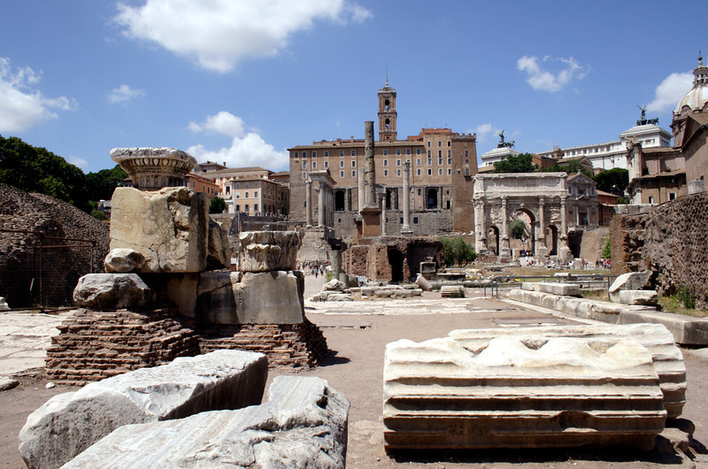 Ruins of the Forum Rome