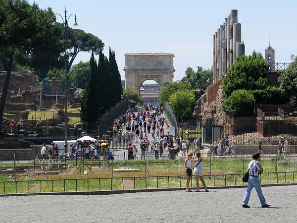 Roman Forum; Arch of Titus