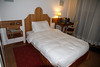 My hotel room in Rome EUR a part of Rome outside the main city of Rome that was built of for the Olympics