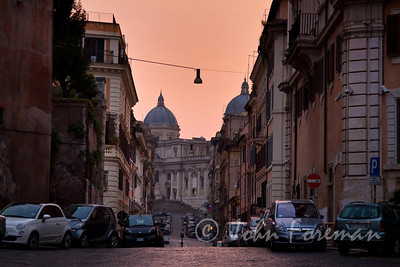 Via Panisperna at dawn
