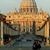 St. Peter's Basilica in the morning light.