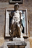 Statue in the grounds of the Castel Sant Angelo Rome