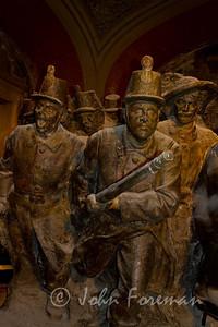 Bronze inside Vittorio Emanuele II