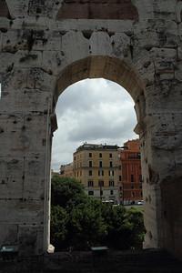 Roman arch in Ruins