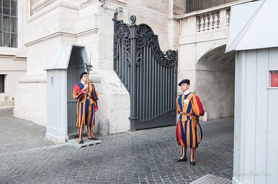 Vatican City Swiss guard (c)Runaway Juno