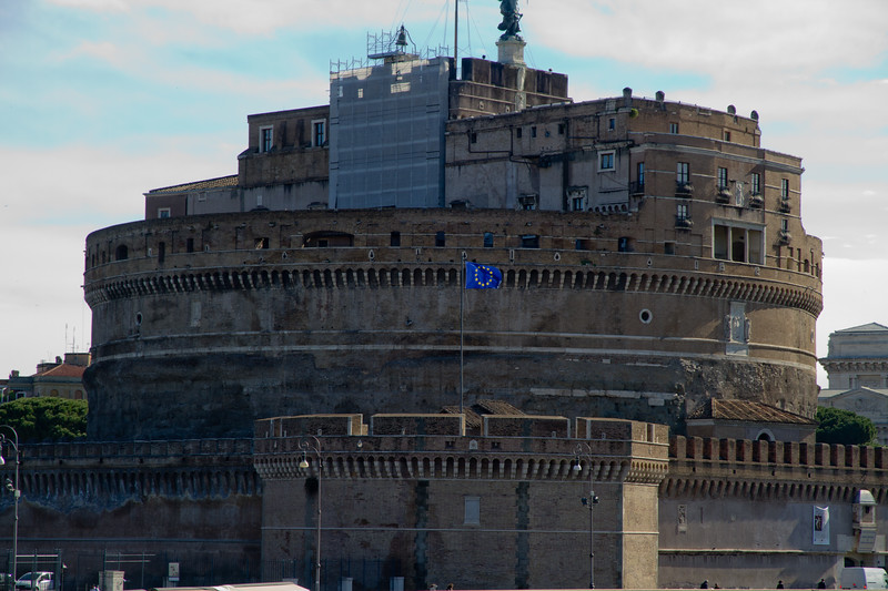 Castel Sant'Angelo, by the Bridge of Angles